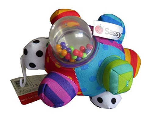 Sassy Developmental Bumpy Ball review