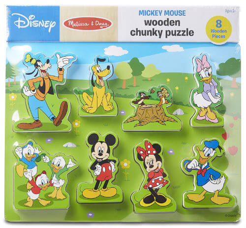 Clubhouse Wooden Chunky Puzzle review