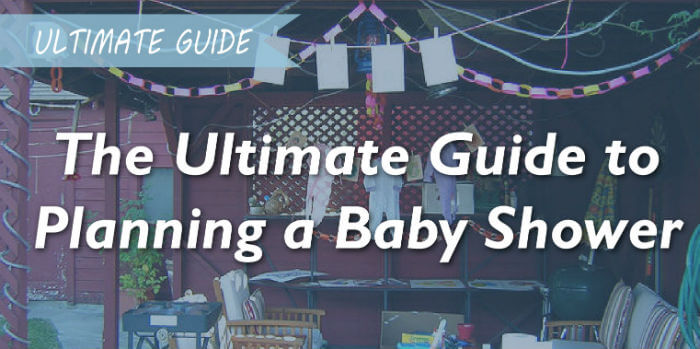 The Ultimate Baby Shower Planning Guide