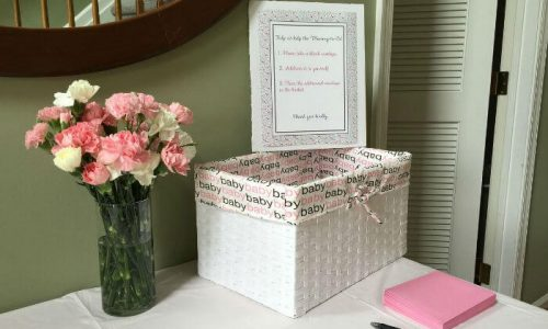 What to write in a baby shower book instead of a card