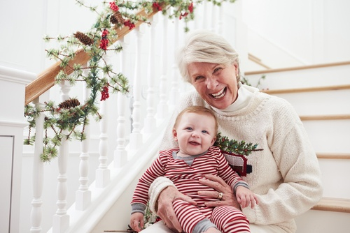 Christmas Gifts from First-Time parent to grandparentss